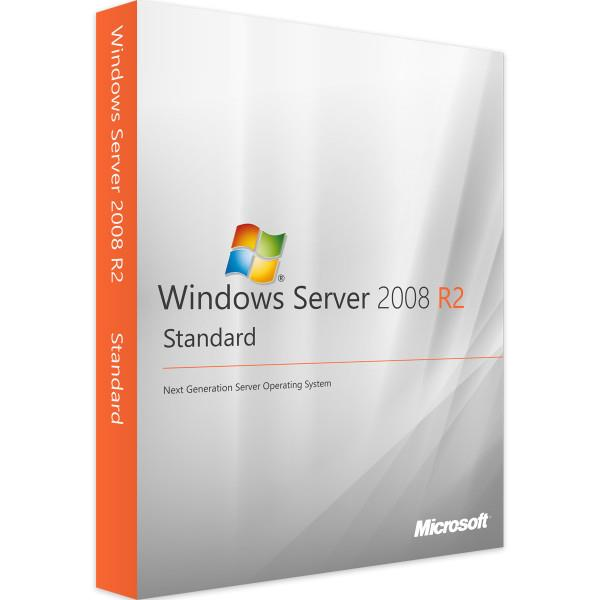 Licenza Licenza Windows Server 2008 R2 STANDARD- Originale