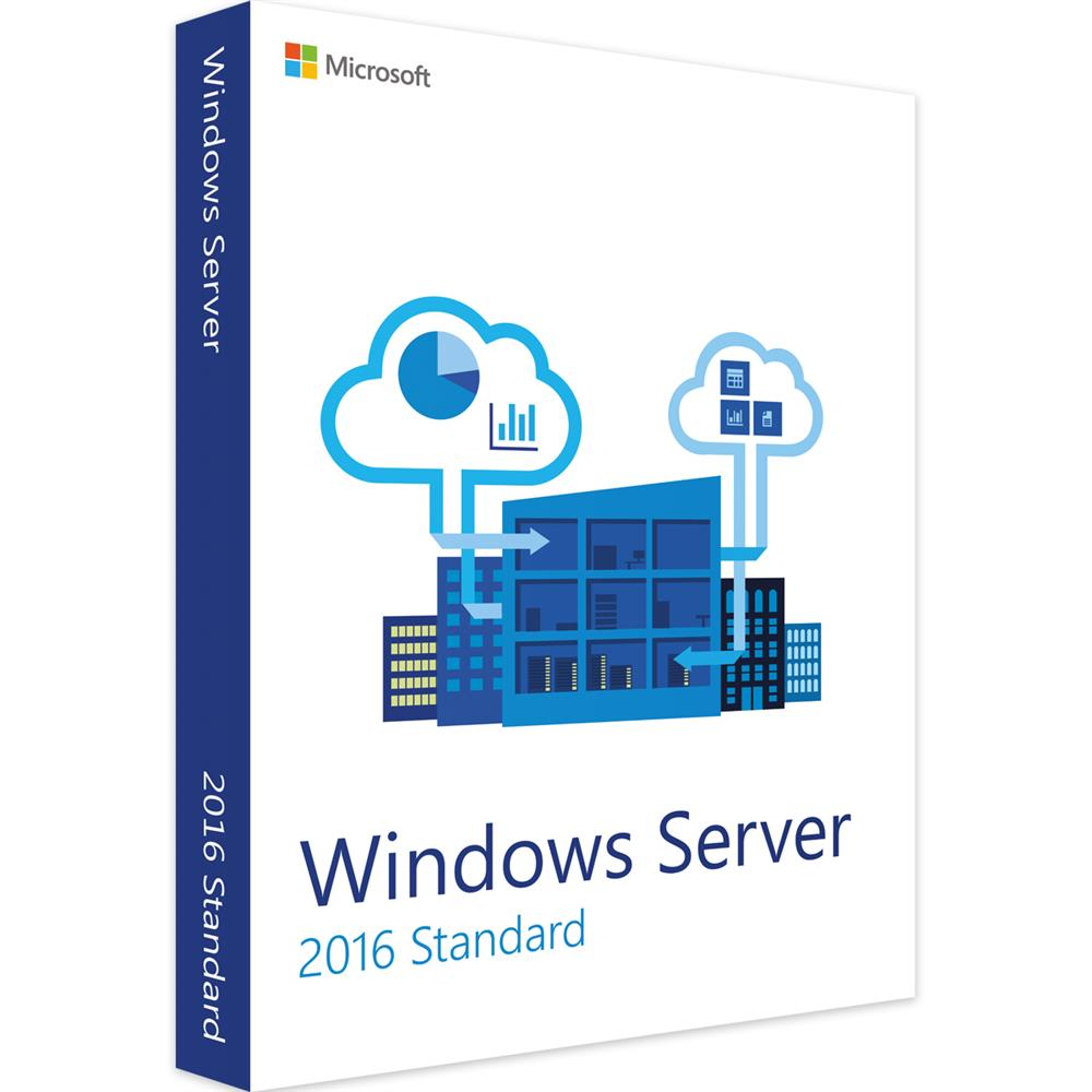 Licenza Licenza Windows Server 2016 STANDARD - Originale