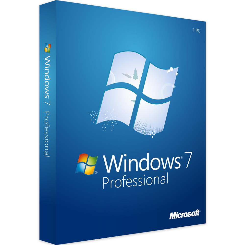 Licenza Licenza Windows 7 Professional - Originale