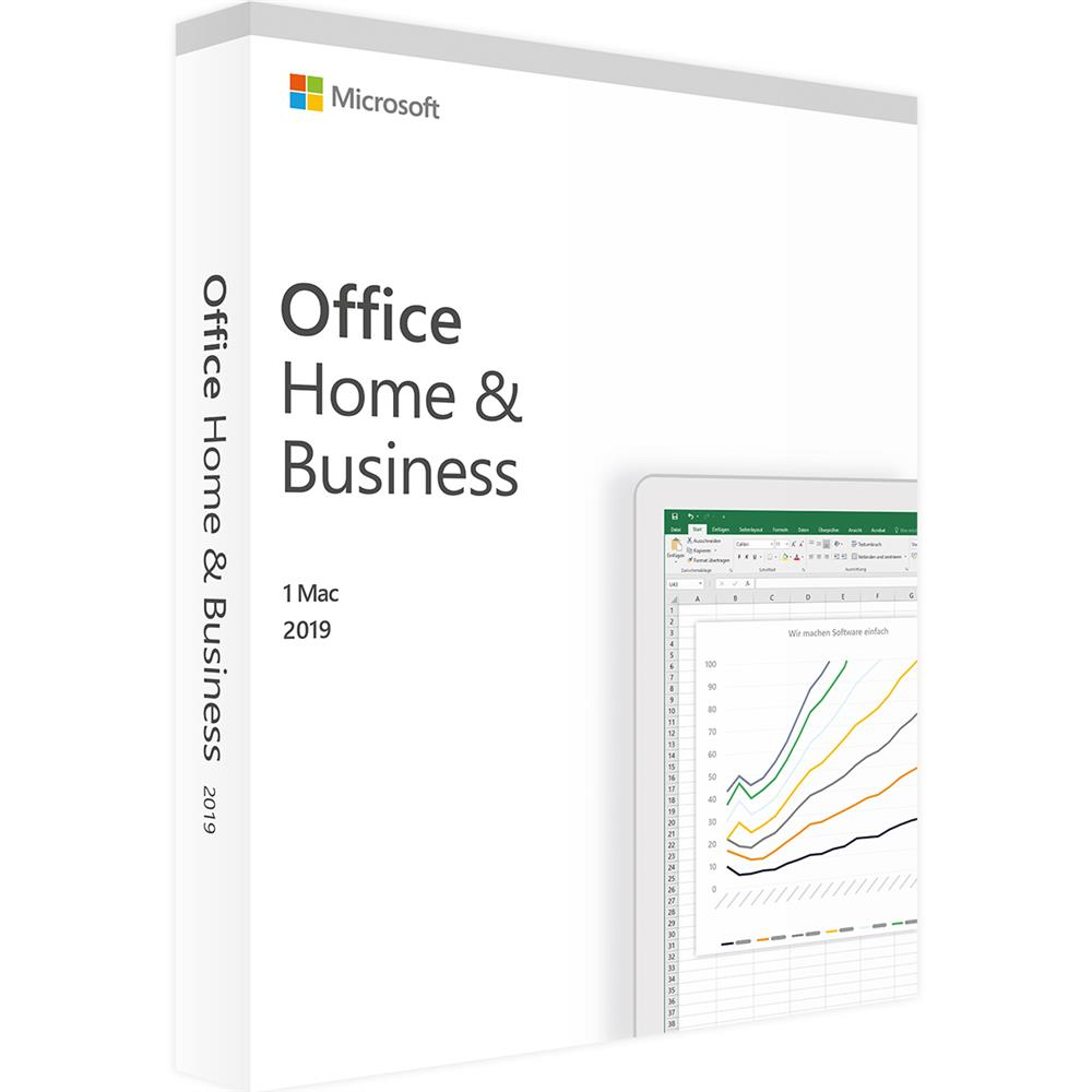 Licenza Licenza Microsoft Home & Business 2019 per Mac - Originale